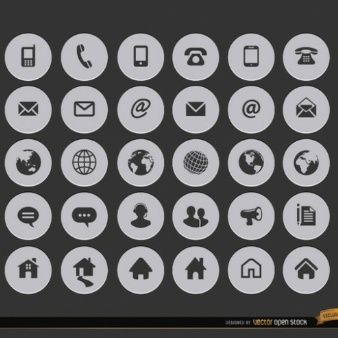 Internet Contact Icons Do You Believe In Magic Contact Icons