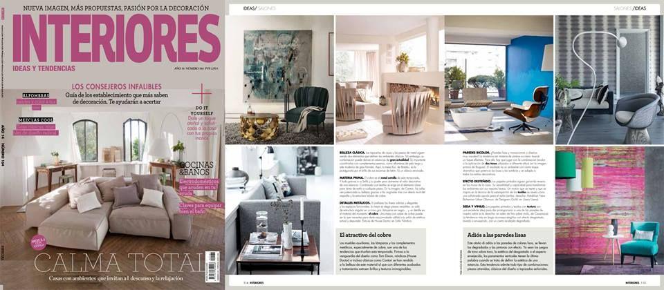 BRABBU in INTERIORES Revista! Spain wwwbrabbu Home deco