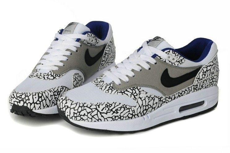 air max blanche grise leopard