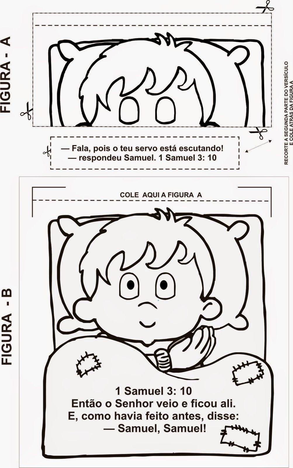 Criança com Jesus, Só Alegria!: Trabalho Manual para História de ...