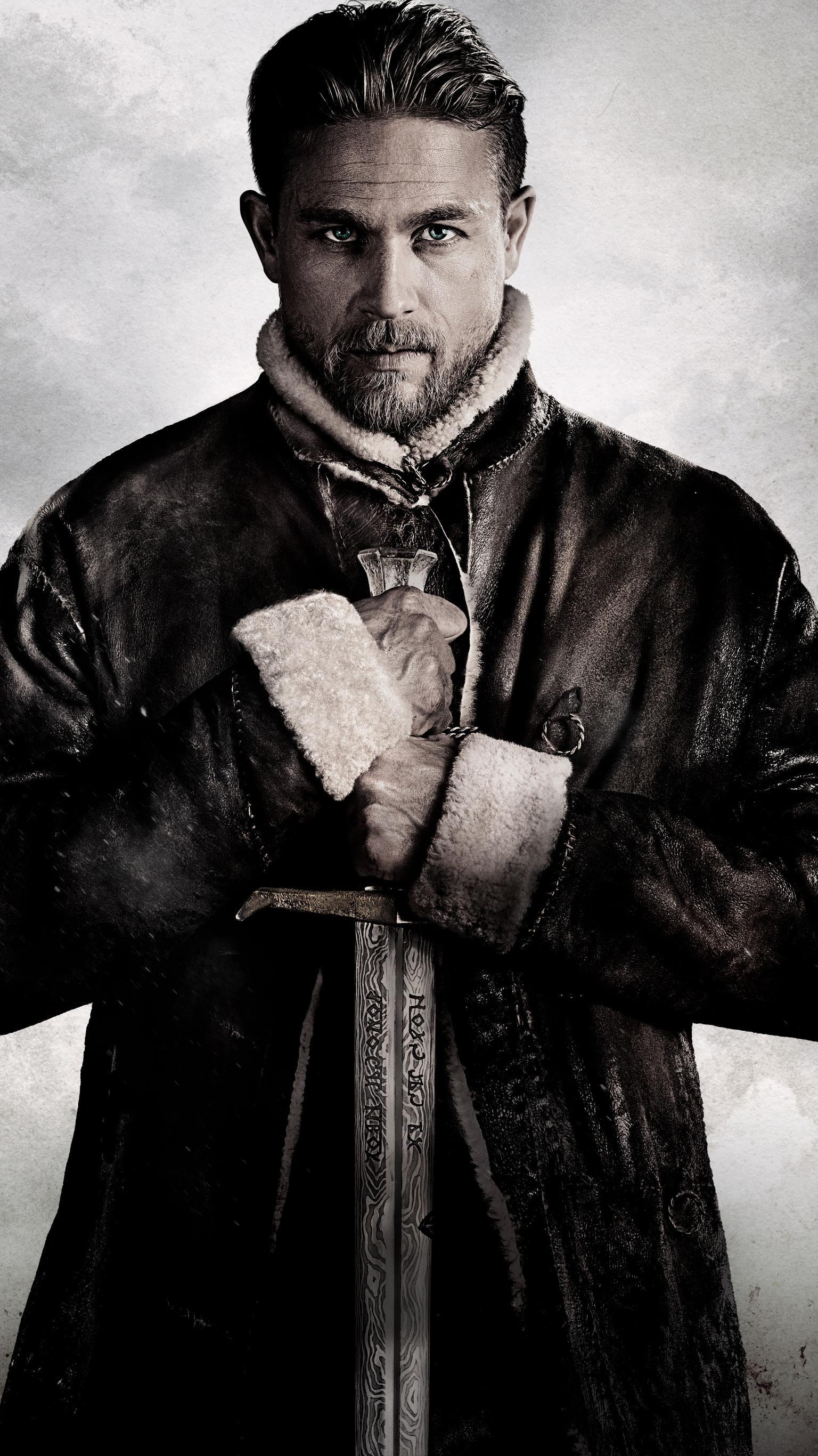King Arthur Legend Of The Sword 2017 Phone Wallpaper Moviemania Charlie Hunnam King Arthur King Arthur Movie King Arthur Legend