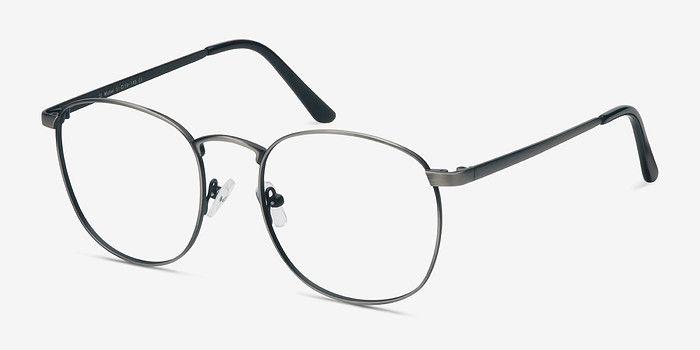 366af13cbe36 St Michel | Gunmetal Metal Eyeglasses | EyeBuyDirect
