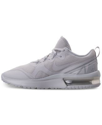 Nike Men s Air Max Fury Running Sneakers from Finish Line - White 11.5 404aeed37