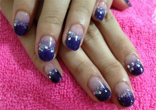 Awesome purple gelish nail art ideas for girls nail art awesome purple gelish nail art ideas for girls prinsesfo Images