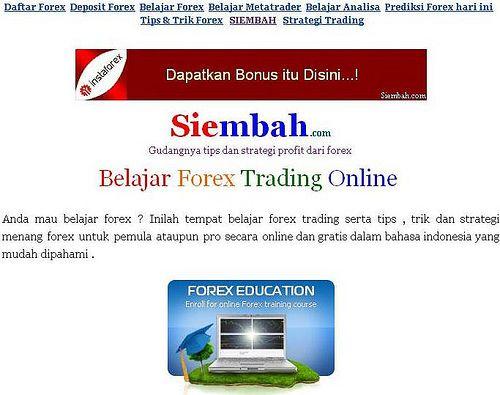 Cara Mulai Belajar Trading Forex - Artikel Forex