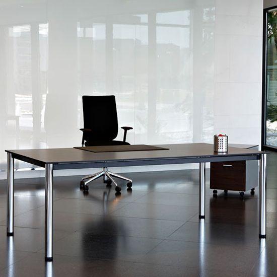 Actiu Cool E100 Straight Desk | Office design, Furniture, Home