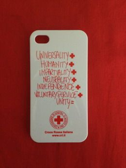 Iphone cover Italian Red Cross