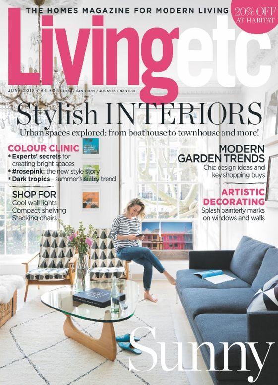 Living Etc Uk Magazine Subscription Buy At Magazine Cafe