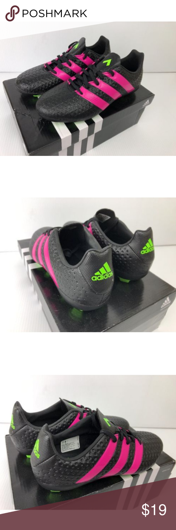 73151cf2c11 Adidas Ace 16.4 FxG J Soccer Cleats Adidas Boys AF5036 SGC 753002 Ace 16.4  FxG J Soccer Cleats Size 3.5 Brand new in box! adidas Shoes