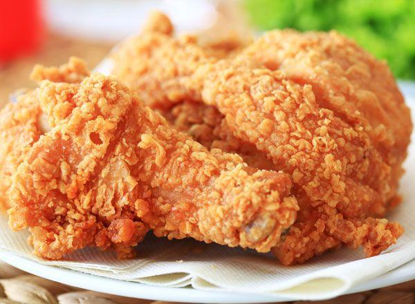 Hiland Dairy | Recipes | Main Courses | Buttermilk Fried Chicken  #HilandDairy