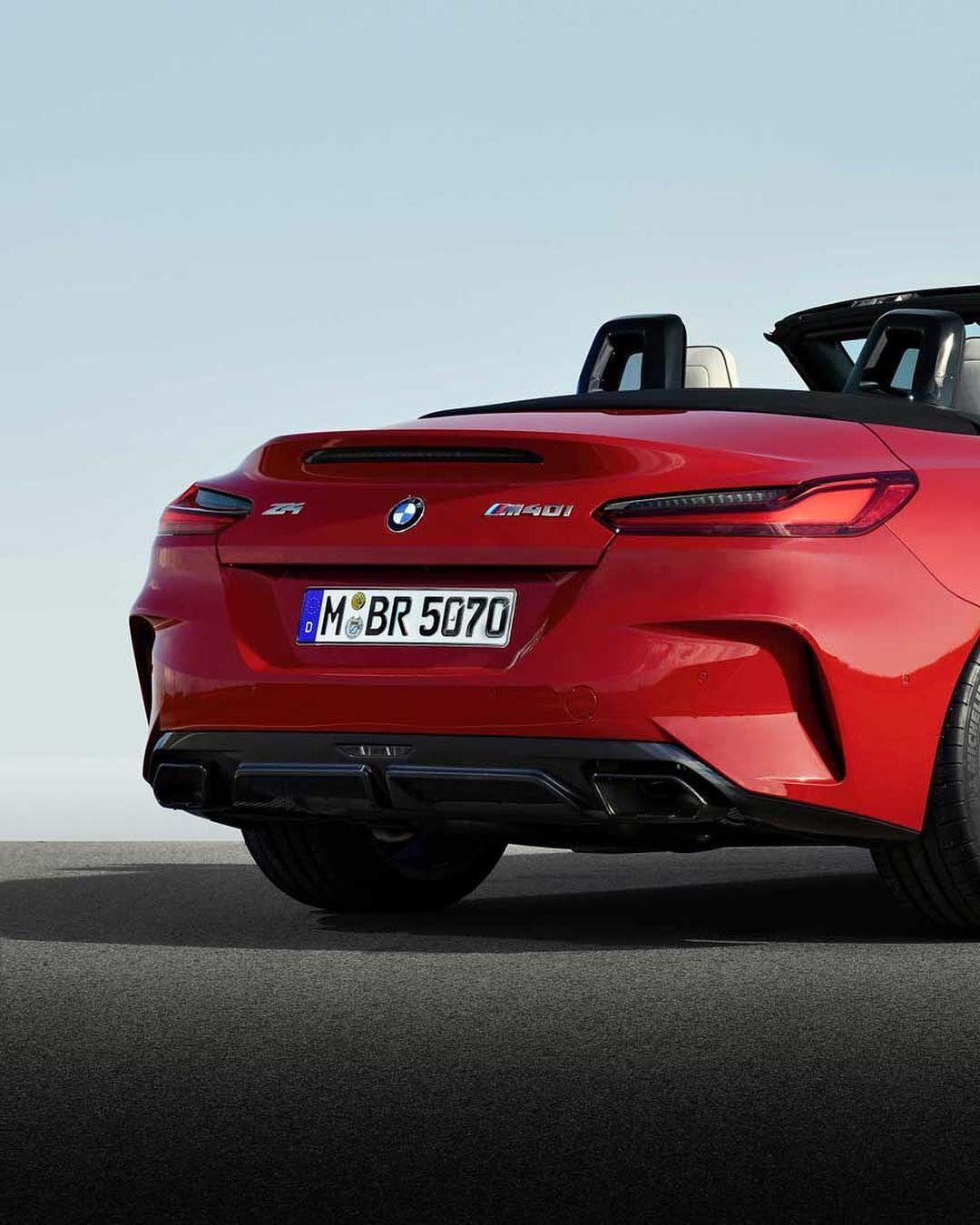 Bmw Z4 Red: BMW G29 Z4 M40i In San Francisco Red