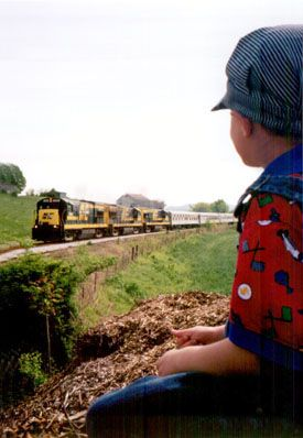 Trains hold a special fascination for all ages!