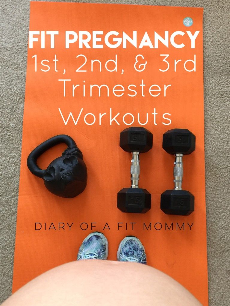 Fit Pregnancy Workouts For Each Trimester  Diary Of A -1659