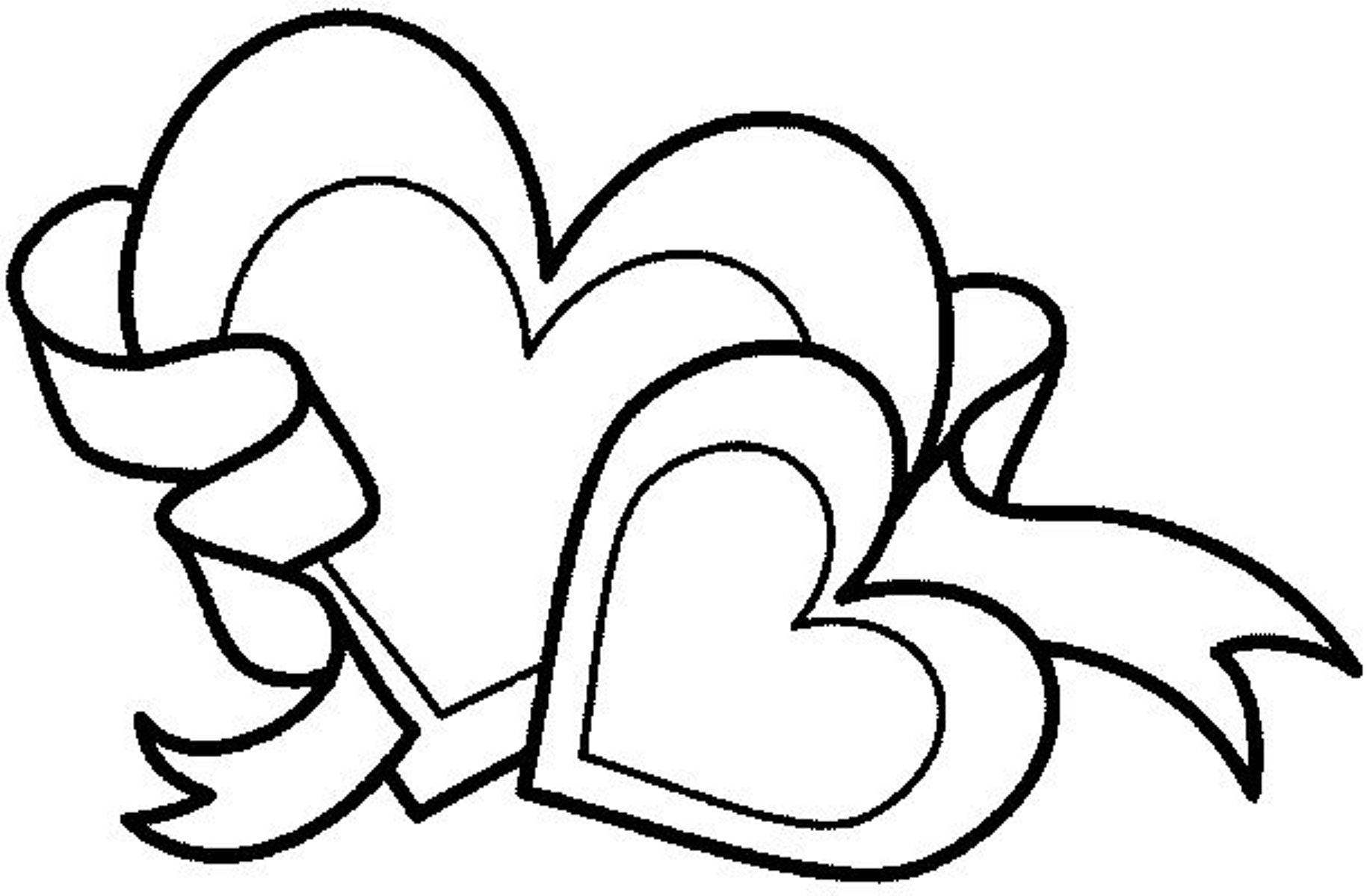 Cute Coloring Pages Of Hearts Love Coloring Pages Valentine Coloring Pages Heart Coloring Pages