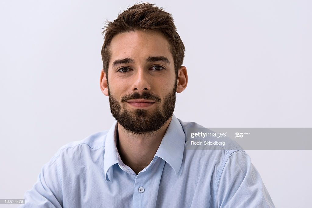 Close Up Portrait Of Young Man In Blue Shirt Close Up Portraits Blue Shirt Photographers Near Me