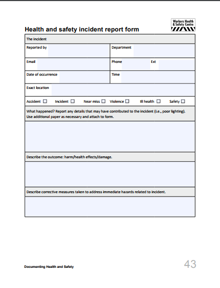 Incident Hazard Report Form Template 2 Templates Example Templates Example In 2021 Incident Report Form Incident Report Templates