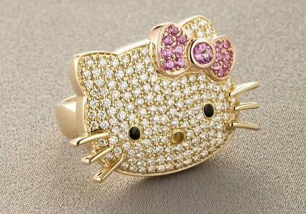 Real Diamonds, Real Gold, and Real Cute. I want this :)
