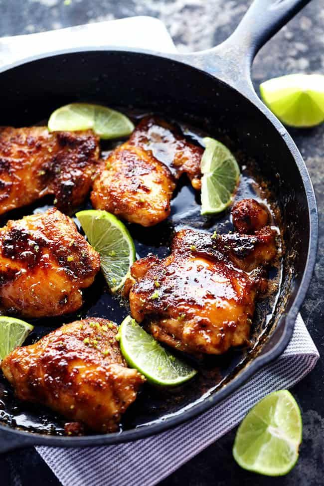 Skillet Honey Lime Chicken | The Recipe Critic