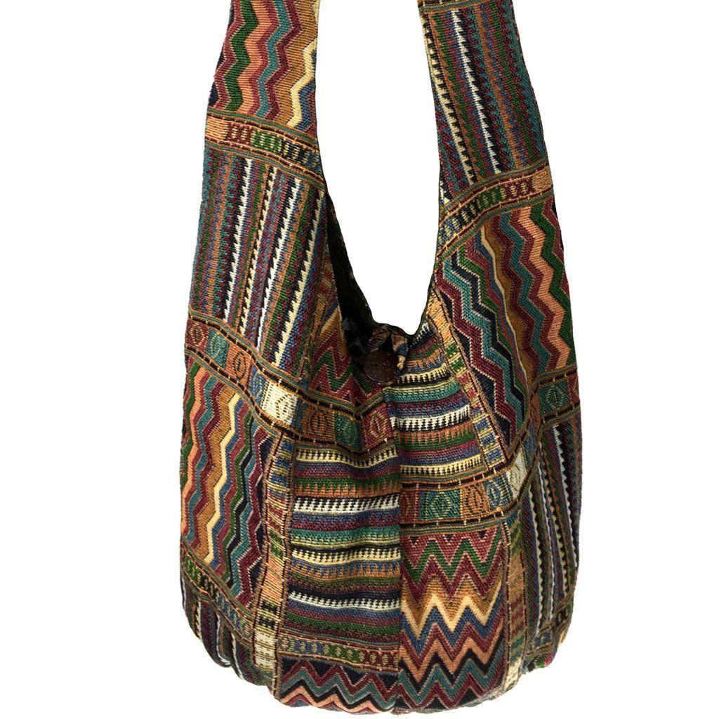 Hippie Crossbody Bag - Native American -