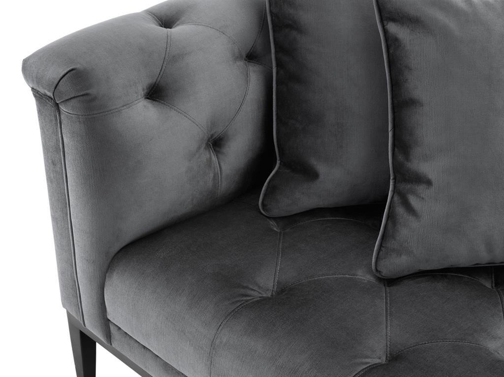 EICHHOLTZ Sofa Cesare Granitgrau Bei Villatmo.de | VILLATMO   Designer Möbel,  Lampen U0026