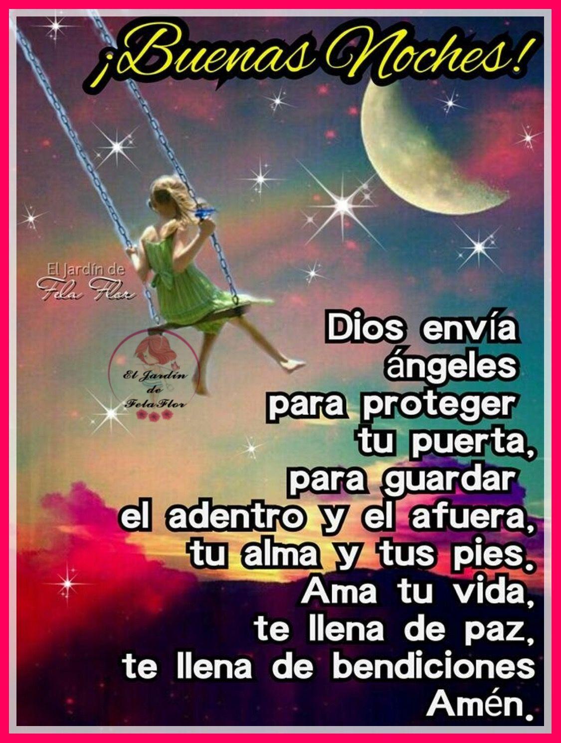 Mensaje De Noche Con Imagenes Buenas Noches Cristiana