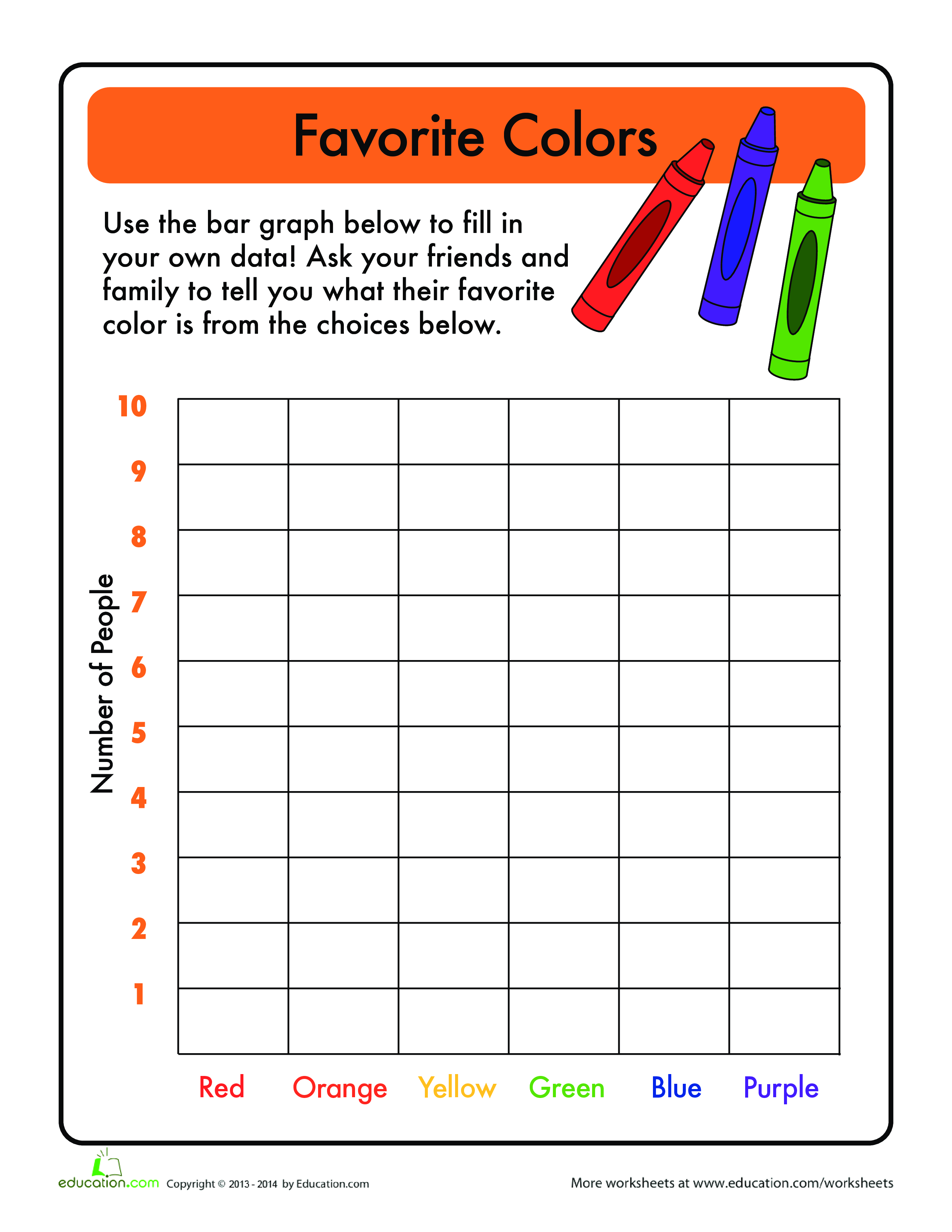 Bar Graph For Kindergarten