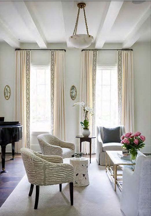 Before And After Living Room And Dining Room Dining Room Window Treatments Living Room Drapes Living Room Decor Curtains