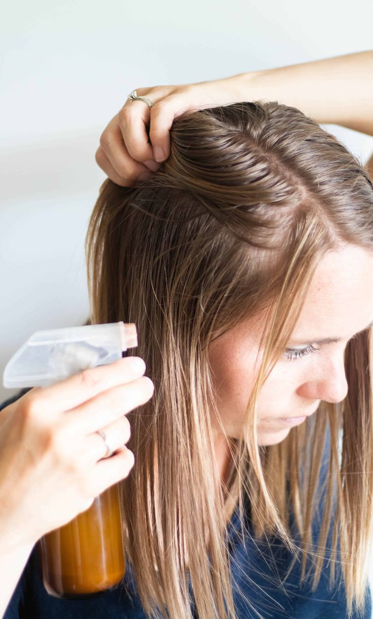 How to Make Dry Shampoo Spray