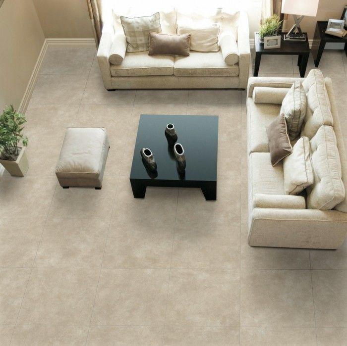 Fliesen Im Wohnzimmer Elegante Bodenbelage Einrichtungsideen