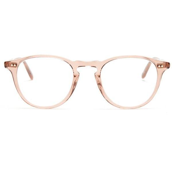 Garrett Leight Hampton 46 round-frame glasses ($239) ❤ liked on ...