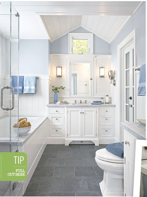 Bathroom Colors And Style From This Old House Magazine Like The