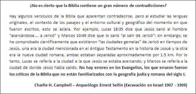 Los escritos bíblicos son dignos de confianza.