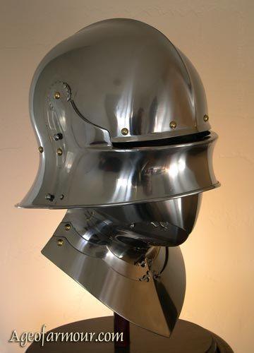 Close Sallet | Sallet in 2019 | Medieval armor, Armor