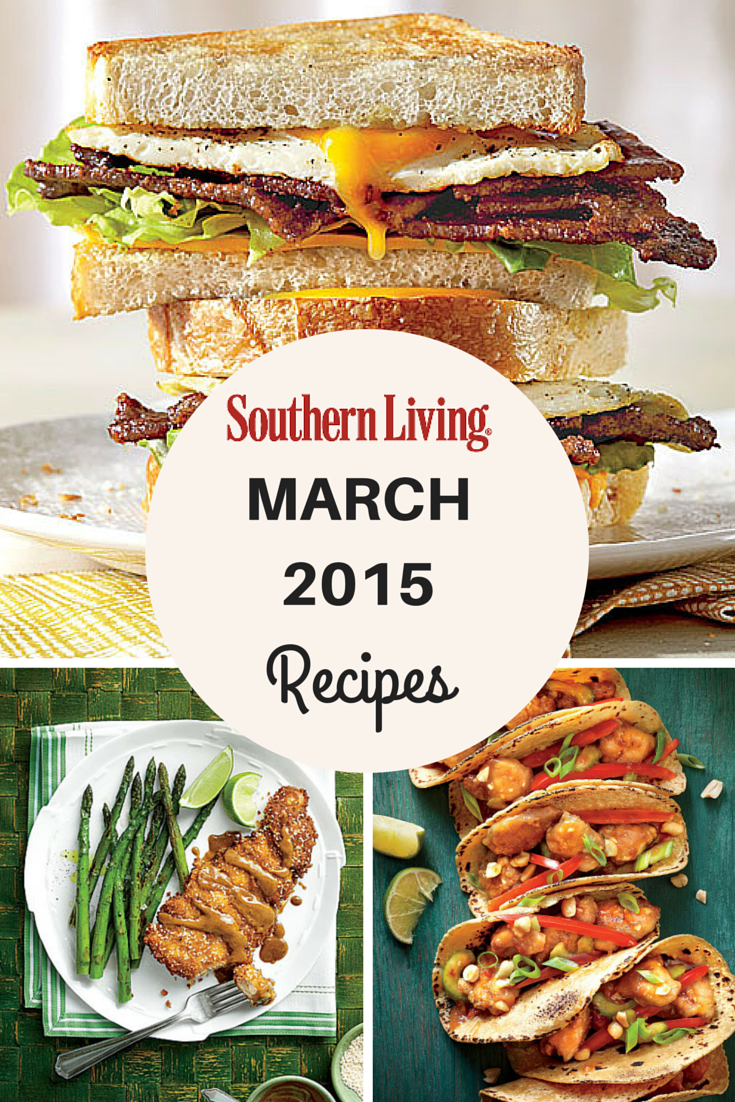 March 2015 Recipes >> March 2015 Recipe List Southern Living Magazine Recipe List And