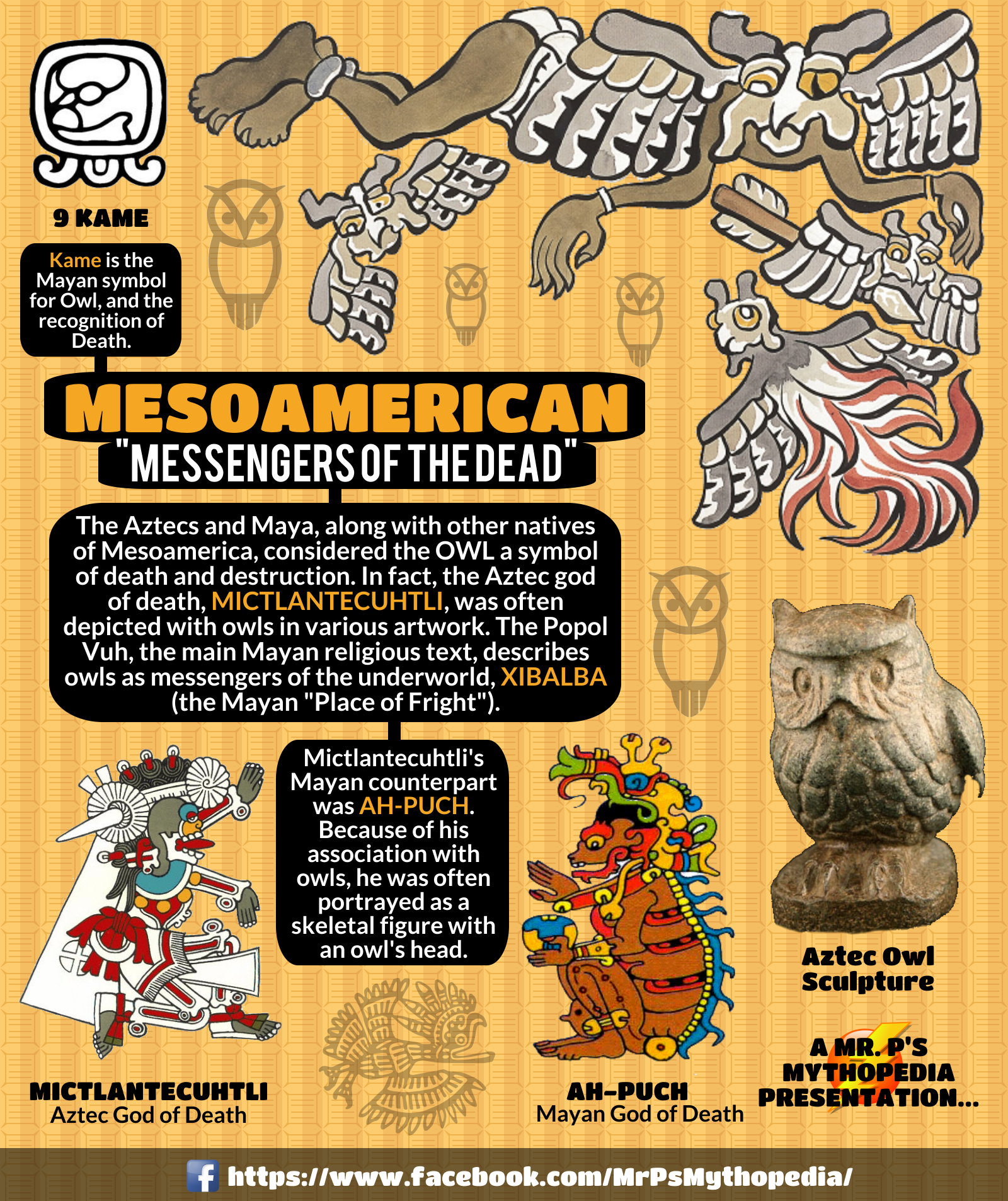The Messengers Of Death In Mesoamerican Mythology The Owl Owls