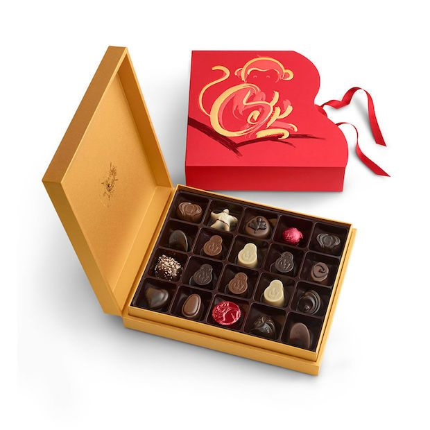 622c5ee0497 Godiva gift set for Chinese New Year - the year of the monkey ...