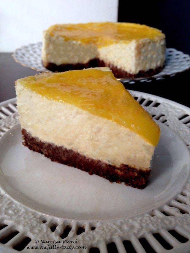 Orange curd kuchen