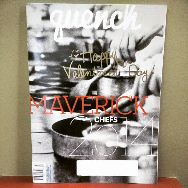 Love this cover from Quench! Perfect for your valentine don't you think? by mycdnmags