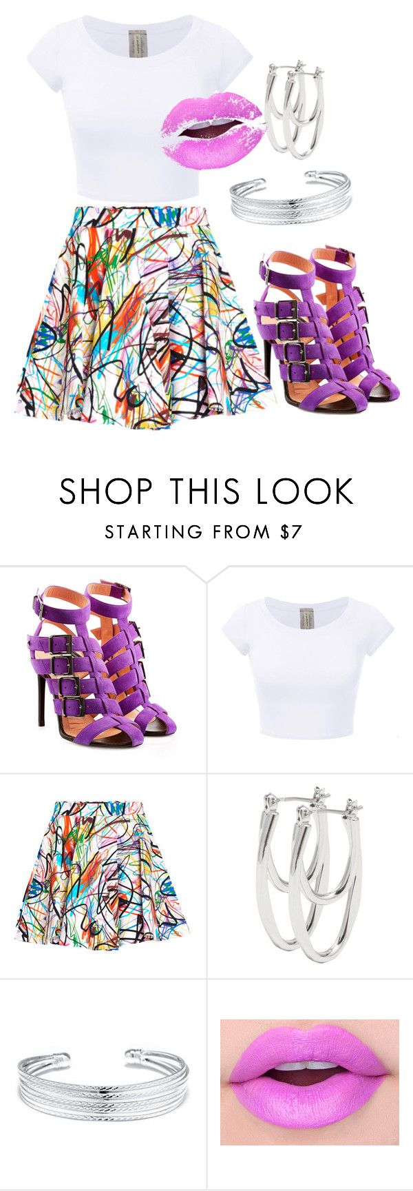 """""""Untitled #130"""" by iamdolledkouture ❤ liked on Polyvore featuring Roland Mouret, Jeremy Scott, M&Co and Belk Silverworks"""