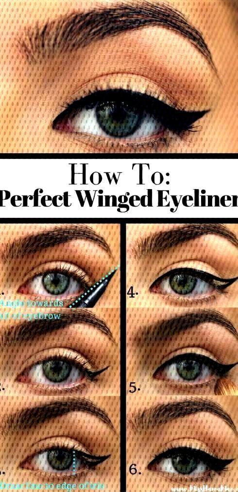 für Anfänger  H...10 einfache Eyeliner-Tutorials für Anfänger  H...einfache Eyeliner-Tutorials