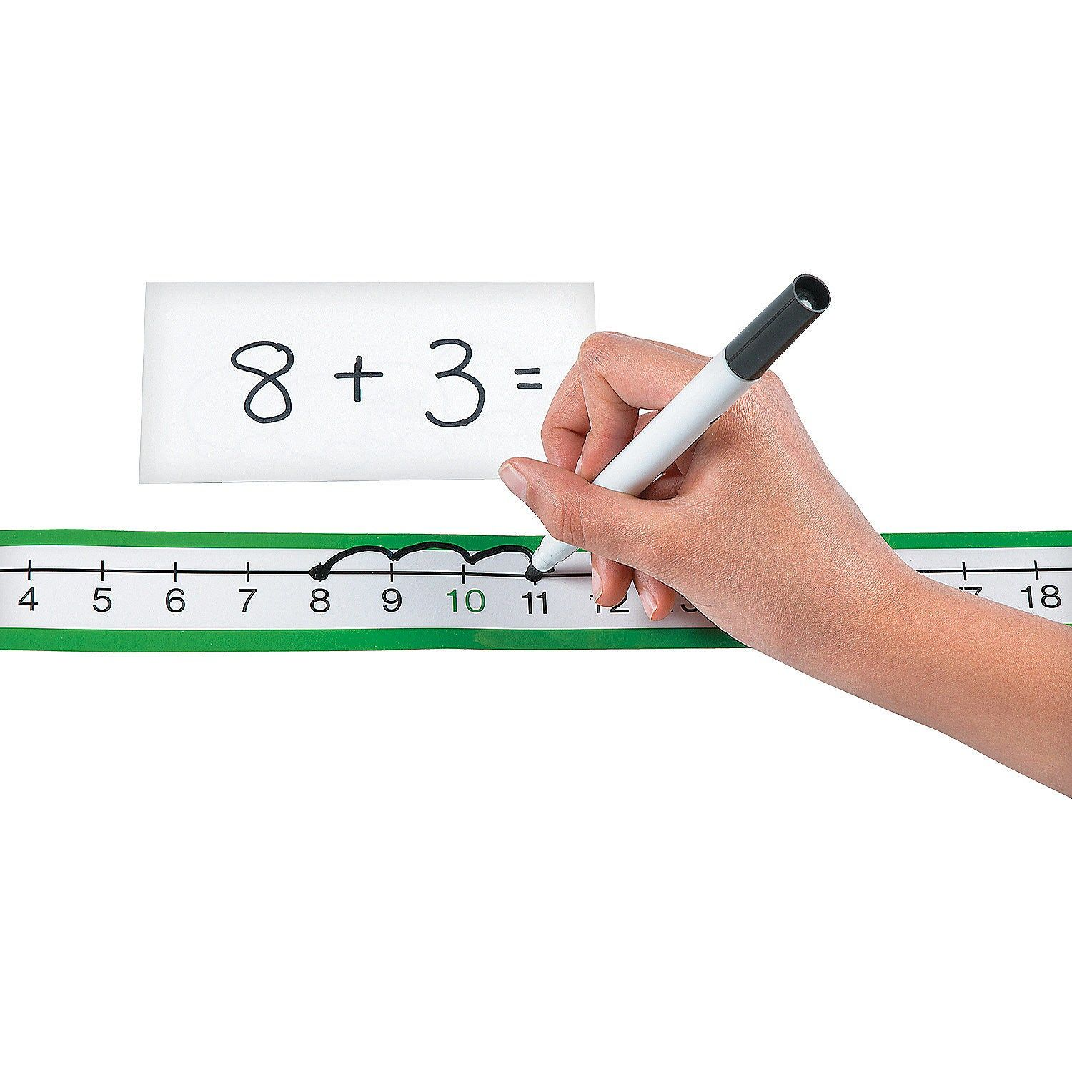 Dry Erase Number Line Sheets Orientaltrading