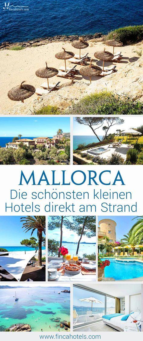 Reserve pequeños hoteles en la playa de Mallorca