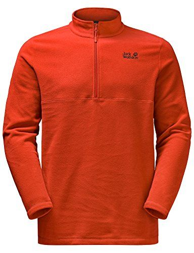 Wolfskin Men's JumperMen Hiking Jack Fleece Gecko Outdoor wvN0Om8n