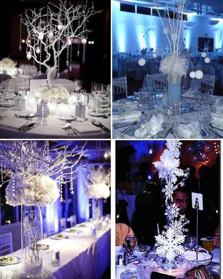 Centro de mesa estilo invierno 4 tile taula for Decoracion invierno