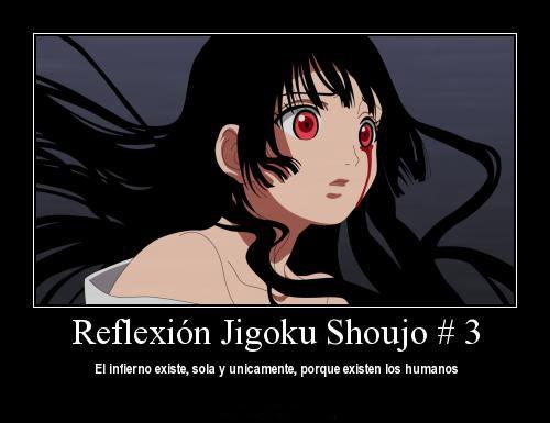 Jigoku Shoujo Reflexion 3 Jigoku Shoujo Chicas Y