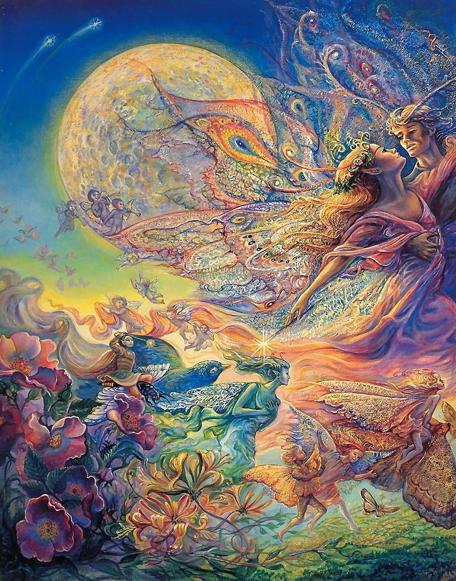 titania and oberon zoom par josephine wall josephine on wall paintings id=50225
