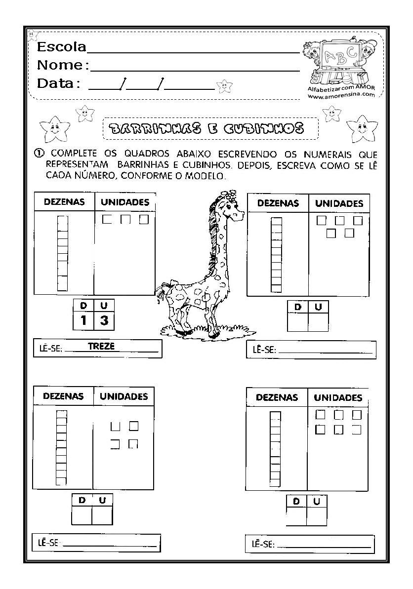 Plano De Aula Matematica Unidade Dezena E Centena Em 2020