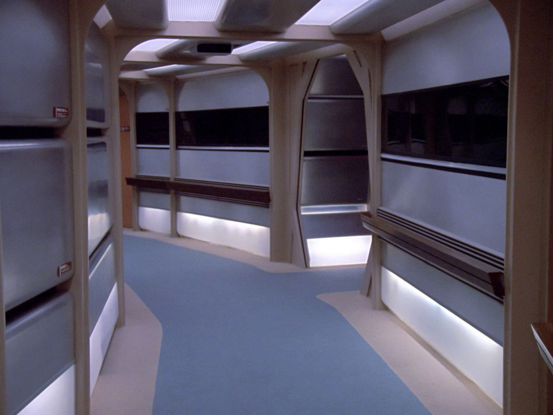 Corridors | Starstation Computer Art |Uss Enterprise Corridors