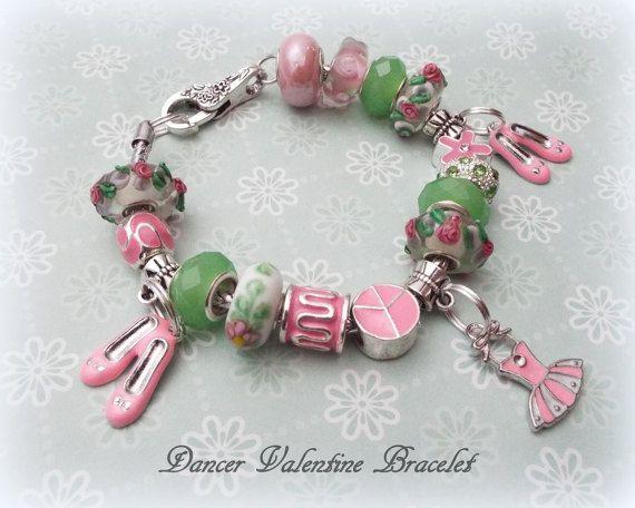 valentine gift for granddaughter dancer charm bracelet gift for daughter ballet lover gift gift for ballet dancer valentines day gift - Valentine Gift For Daughter