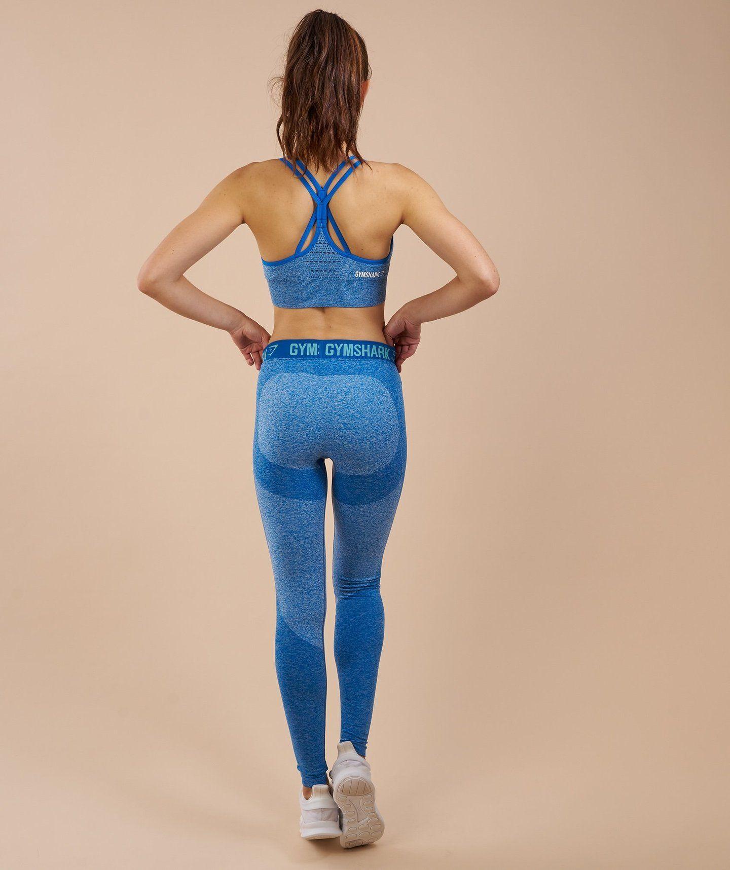 e95535832056e7 Gymshark Flex Leggings - Blueberry Marl/Marine Blue 1 | Clothes ...